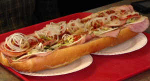 Super-sized Italian Hoagie